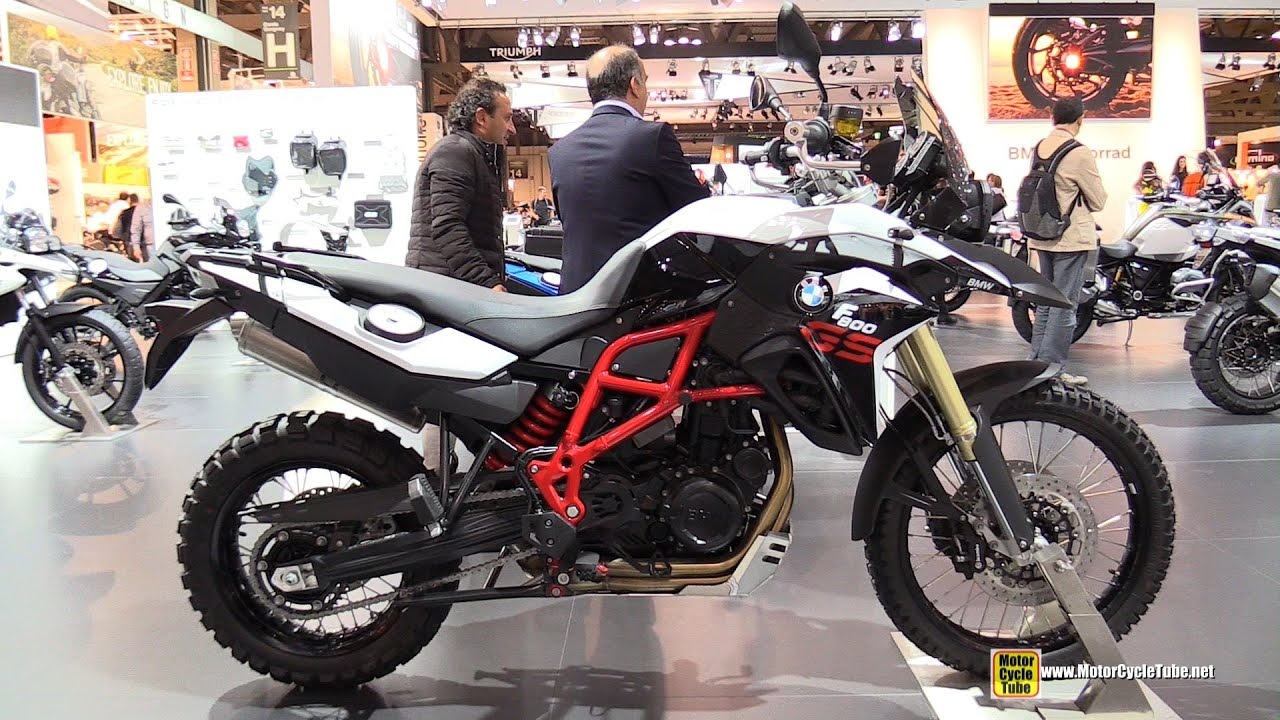 2015 BMW F800GS - Walkaround - 2014 EICMA Milan Motorcycle ...
