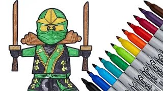 Lego Ninjago Coloring page 2016 New HD Video for Kids Mp3