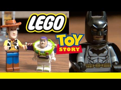 LEGO Toy Story 4: Movie Magic | Woody Buzz Lightyear & Batman | Disney Pixar