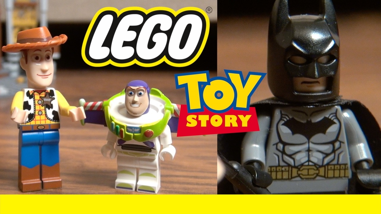 LEGO Toy Story 4: Movie Magic | Woody Buzz Lightyear & Batman | Disney Pixar