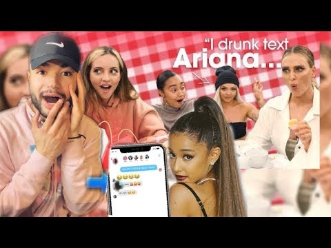 Little Mix Drunk Texts Ariana Grande And Taylor Swift *They Replied Back ... *