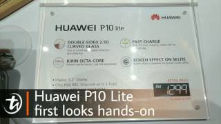 Huawei P10 Lite first looks hands-on by TechNave.com