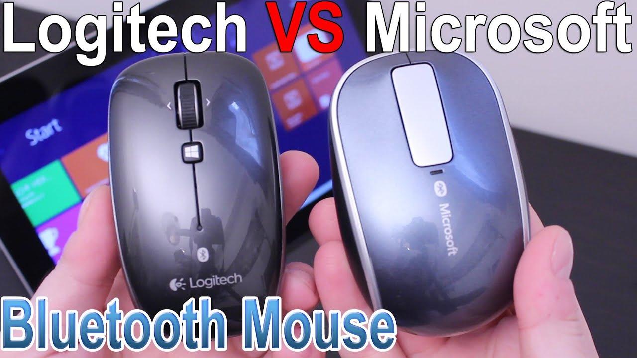 Logitech M557 vs Microsoft Sculpt Touch Mouse
