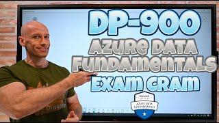 DP-900 Azure Data Fundamentals Exam Cram Whiteboard Video