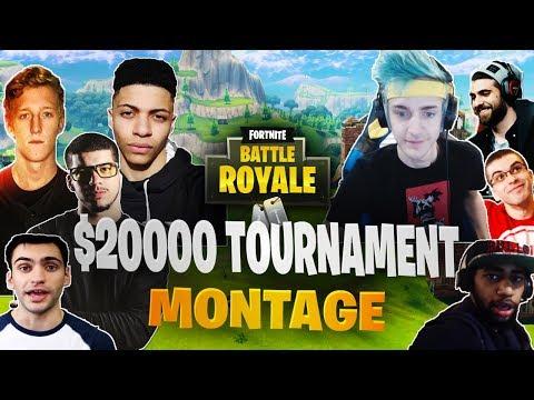 Keemstar $20,000 YouTuber/Streamer Friday Fortnite Tournament Montage
