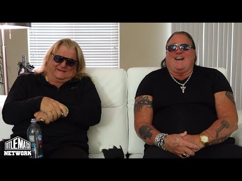 Greg Valentine & Brutus Beefcake - What Iron Sheik is Like in Real Life