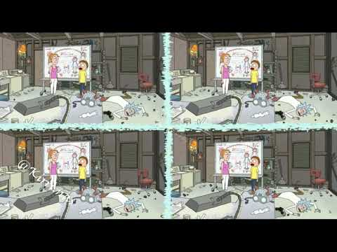 Рик и Морти, 2 сезон 1 серия. Морти устал от паранойи Рика и вырубает его.