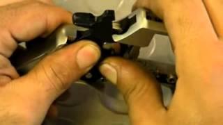 Revólver de fogueo ZORAKI R1 - montaje (ZORAKI blank revolver R1 - assembling)