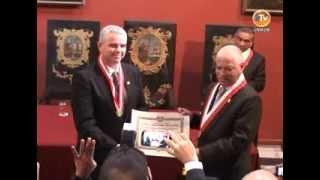 Embajador de Israel es reconocido como Doctor Honoris Causa de la UNMSM