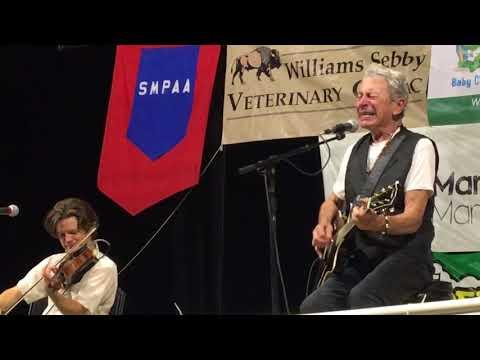Joe Ely with Warren Hood - Hard Livin' - Summer In The Park - San Marcos, TX 8/2/18