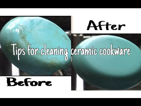 Cleaning Ceramic Pans