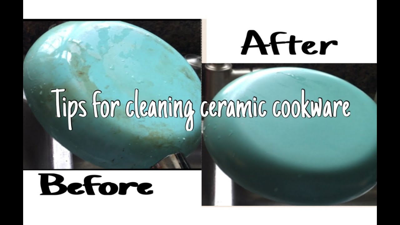 Cleaning Ceramic Pans Youtube