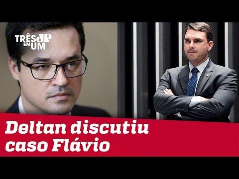 Deltan Dallagnol discutiu caso Flávio Bolsonaro no Telegram, diz Intercept
