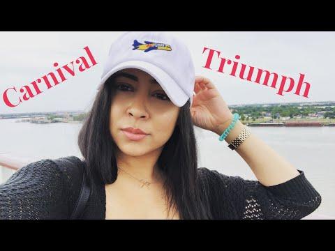 Carnival Triumph| Day 1 & 2