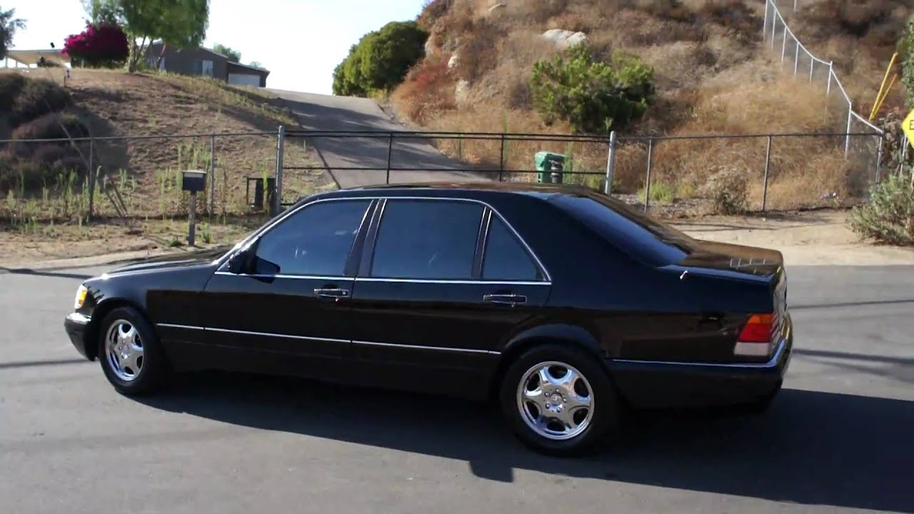 mint 1996 mercedes benz s500 w140 s600 saloon for sale youtube. Black Bedroom Furniture Sets. Home Design Ideas