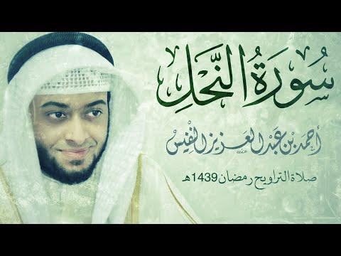 سورة النحل #رمضان1439   Surah An-Nahl Ahmad Alnfais