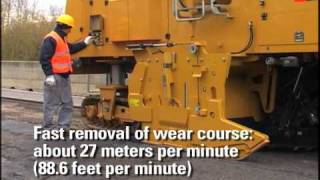 """Cat® PM200 Cold Planer with 2.2m (88"""") Rotor 