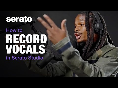 How to record vocals in Serato Studio