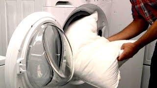 как стирать пуховые подушки в домашних условиях. Совет 13