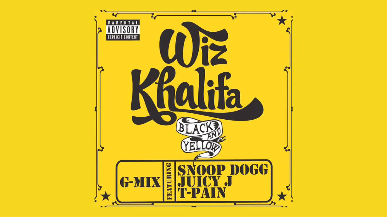 Book With Black And Yellow Cover : Wiz khalifa black and yellow ft snoop dogg juicy j