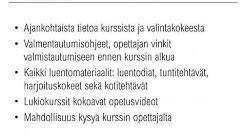 Diplomi-insinööriosastot - Valmennuskurssit