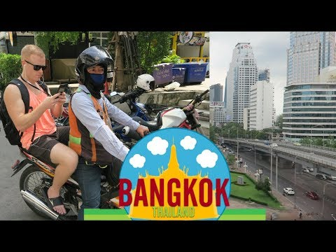 Bangkok Guide: How to get Around – Motorbike Taxi, BTS or Boat 🌴 (Cost of Thailand Travel)
