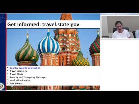 Webinar: Study Abroad Safety - April 27, 2016