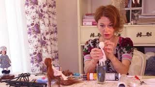 урок паричок на силиконовой шапочке для кукол