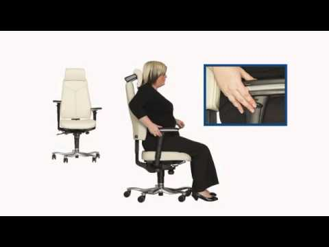 Posture Chair Demo Covers Elegance 6000 8000 Wmv Youtube