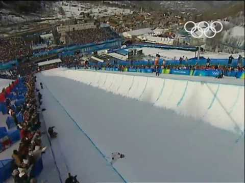 White - Snowboard - Men's Half-Pipe - Turin 2006 Winter Olympic Games