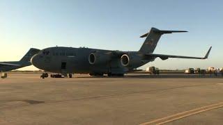 Parte avión de EEUU con ayuda humanitaria para Venezuela