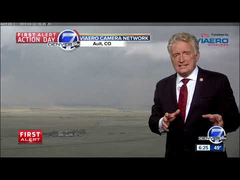 First Tornado Of The Season Reported North Of Greeley