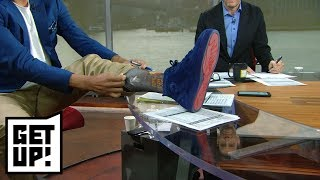 Hot Take Factory: Jalen Rose apologizes to Donovan Mitchell with ROY socks | Get Up! | ESPN