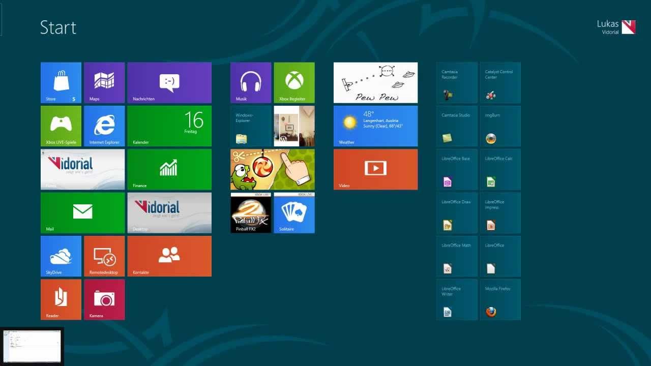 Windows 8 Eingabeaufforderung