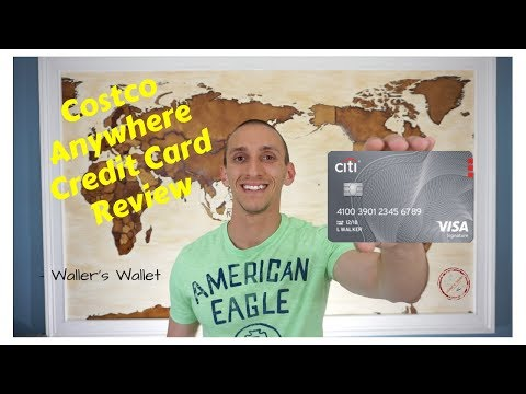 Costco Anywhere Credit Card Review- Waller's Wallet