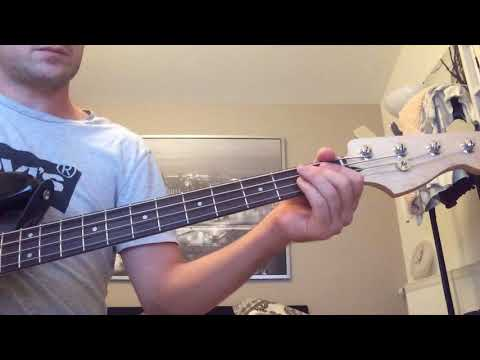Pixies - Tenement song bass cover (poor quality) with tab
