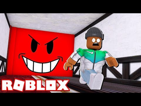 DON'T GET CRUSHED BY THE WALL!! | Roblox Hotel Escape Obby