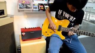 Demo Cube lite guitar - Amply cho guitar Điện.
