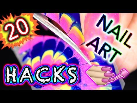 20 DIY Nail Art Hacks you NEED IN YOUR BRAIN!