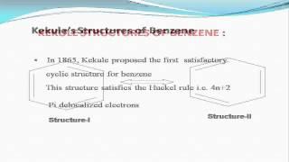 Structure & Preparation Benzene