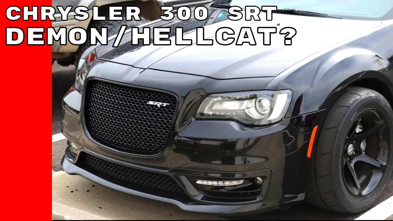 Widebody Chrysler 300 Srt With Dodge Demon Wheels Could Be