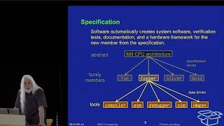 The Mill CPU Architecture - Specification (8 of 10)
