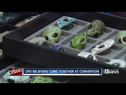 Alien inspired art made by Nevada artist showcased at UFO event