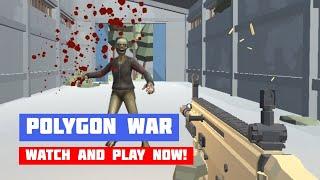 Polygon War: Zombie Apocalypse · Game · Gameplay