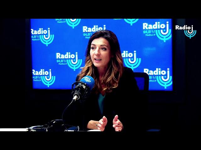 Coralie Dubost est l'invité de Christophe Barbier sur Radio J