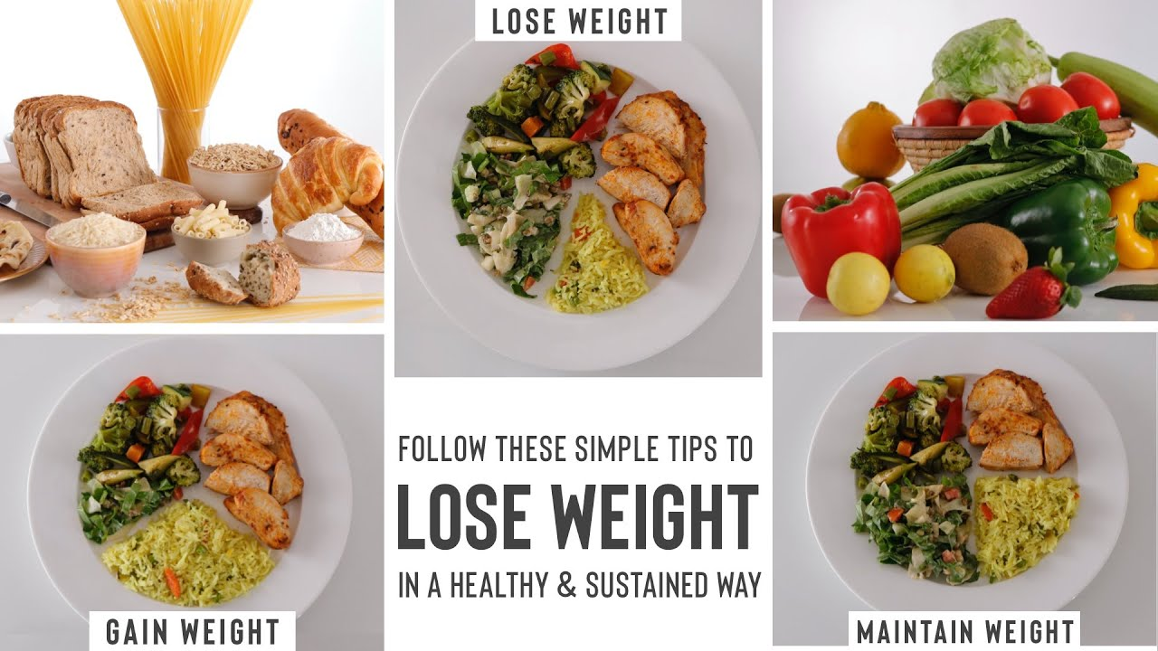 Plate Management for Weight Management | How To Eat Right For Your Weight Goals
