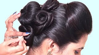 Beautiful Hairstyles for party/wedding/function || Side braid hairstyles || hairstyles | 2019