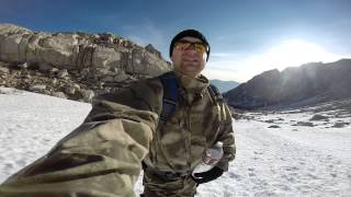 Mt Whitney hike May 2014