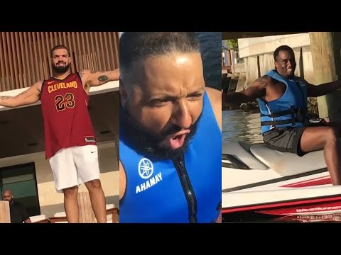 Diddy and Drake come to Khaled's rescue after jet ski accident