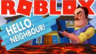 ROBLOX | Hello Neighbor - The Floor is Lava !